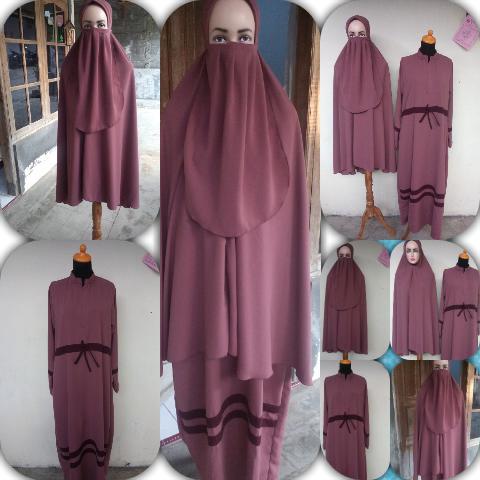 Khusus Gamis Set Jilbab Cadar