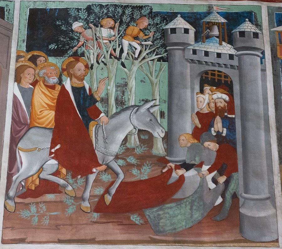 Statuaire et mobilier des eglises peintures murales for Peintures murales