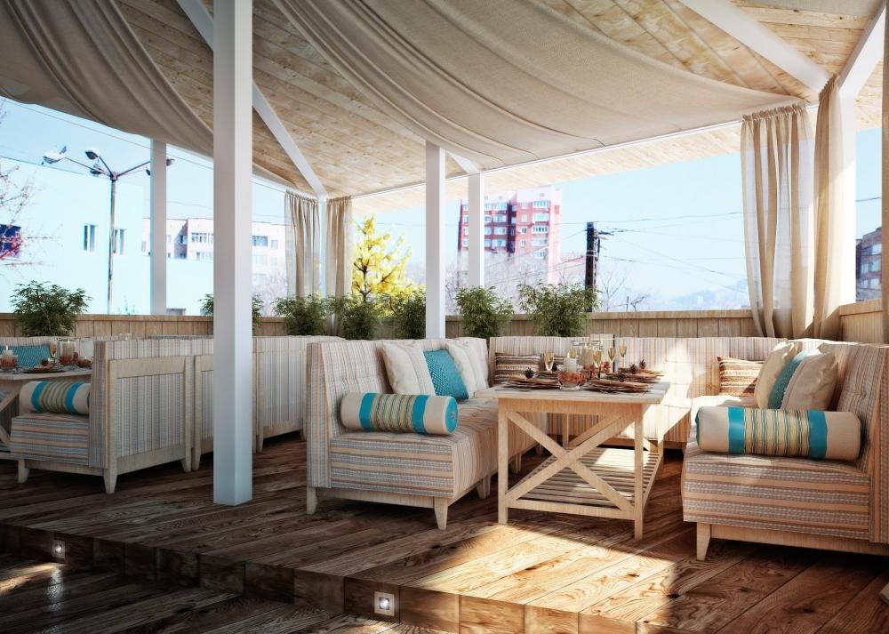 Дизайн летней веранды фото
