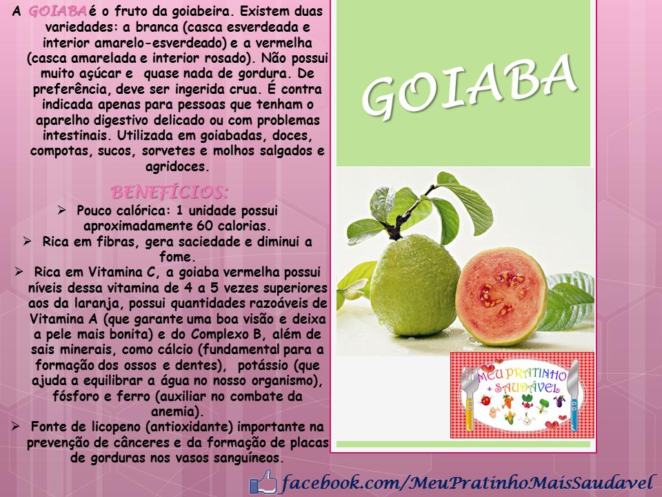 BLOG DA NUTRI ALE - Nutrição Infantil: <b>Goiaba</b> e seus <b>Benefícios</b> <b>...</b> 2014