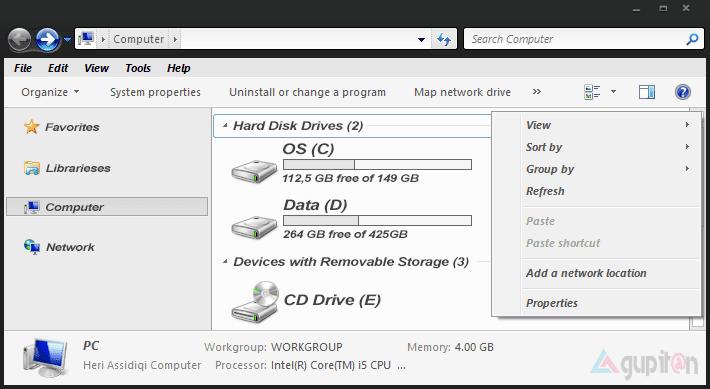 Cara Mengatasi Huruf Tebal Dan Miring di Windows 7 1