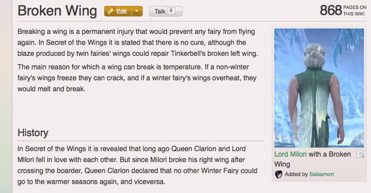 How to Fix a Broken Tinkerbell Fairy Wing / Wiki 2-4-2014 by BeckyCharms