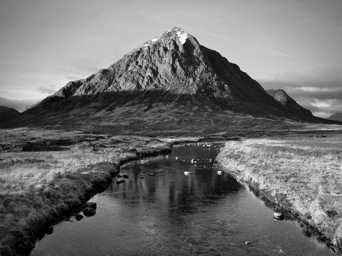 Fotograf a de paisaje en blanco y negro el paisaje perfecto - Blanco y negro ...