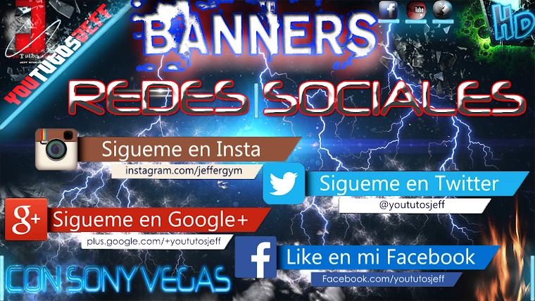 BANNERS DE REDES SOCIALES ANIMADAS | 2015