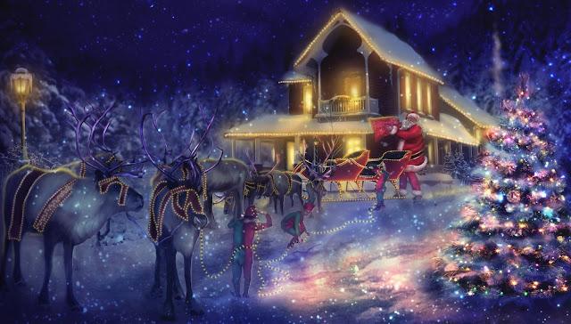 Christmas coming wallpapers