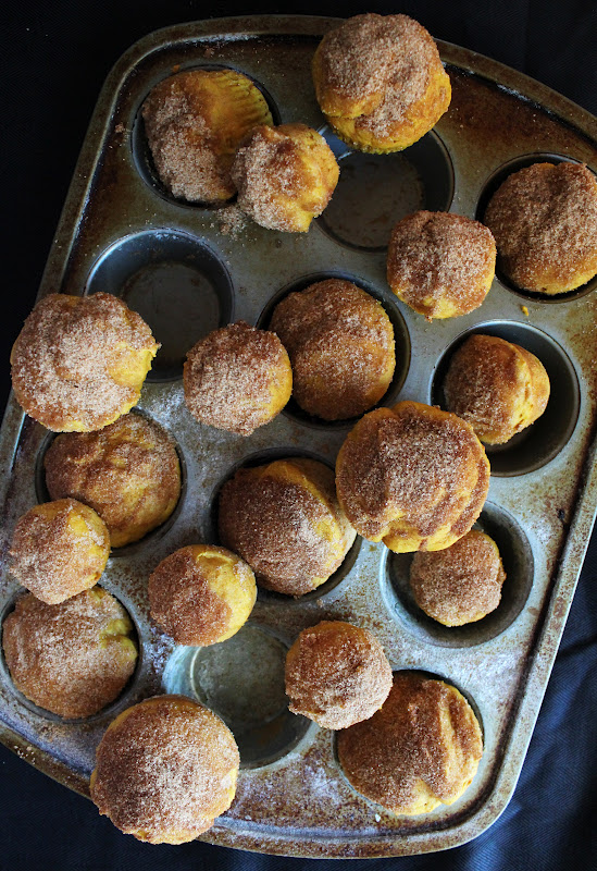 Icing Designs: Pumpkin Doughnut Muffins