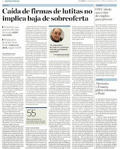 EL CRUDO DE LUTITAS Y LA SOBREOFETA