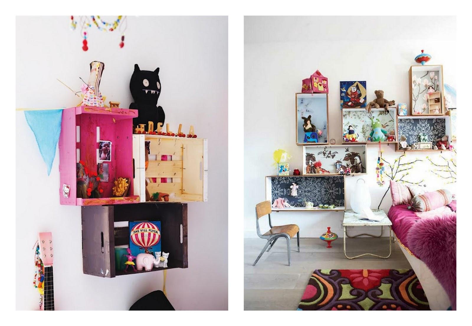 Summer in savannah inspiraci n cajas de fruta - Como decorar cajas de madera de fruta ...