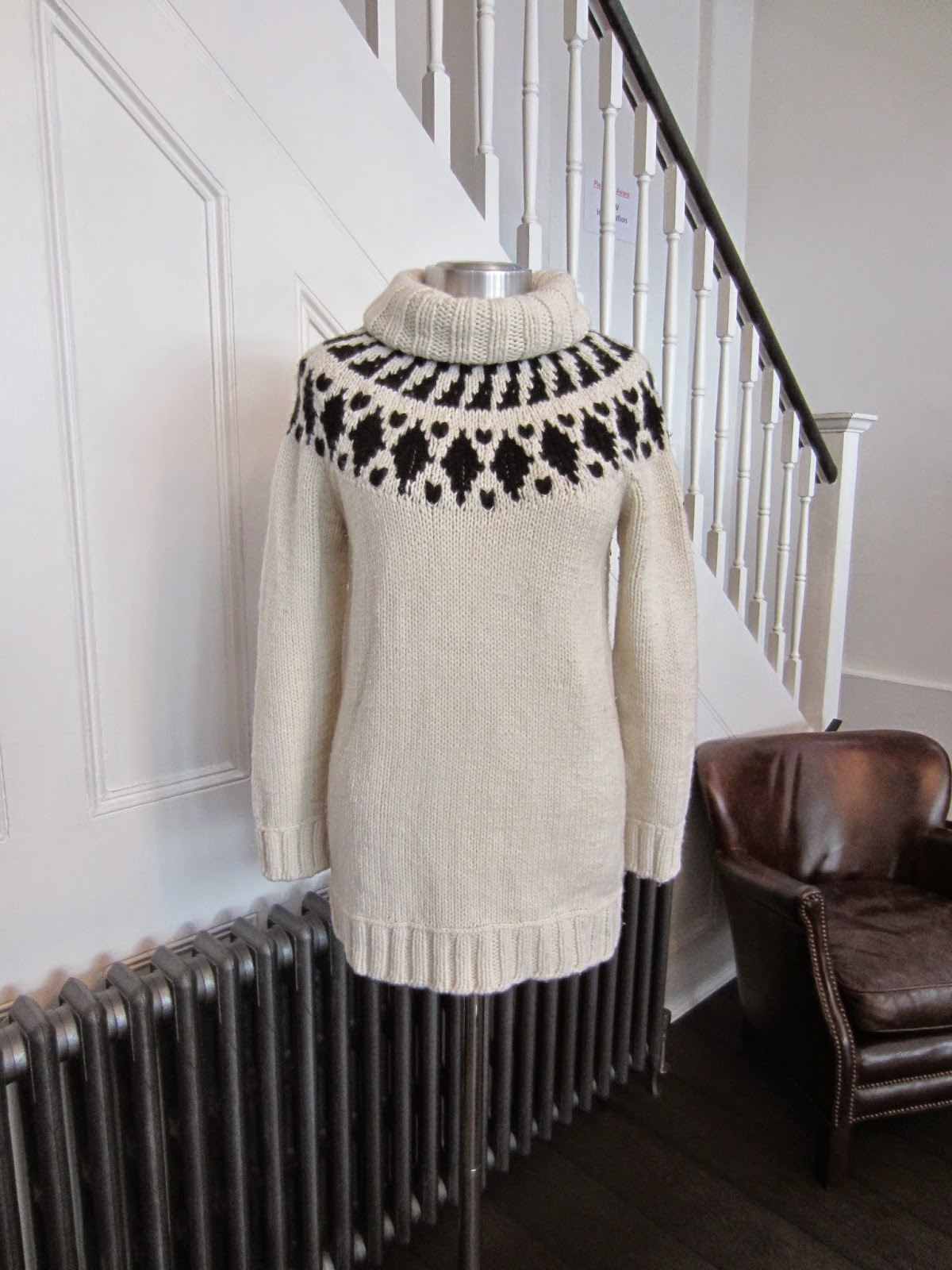 Moncler Black & White Knit