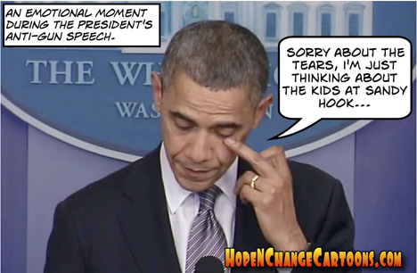 obama, obama jokes, gun control, sandy hook, hope and change, hope n' change, stilton jarlsberg, tea party, conservative, guns