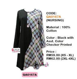 T-Shirt-Muslimah-Qaseh-QA0167A