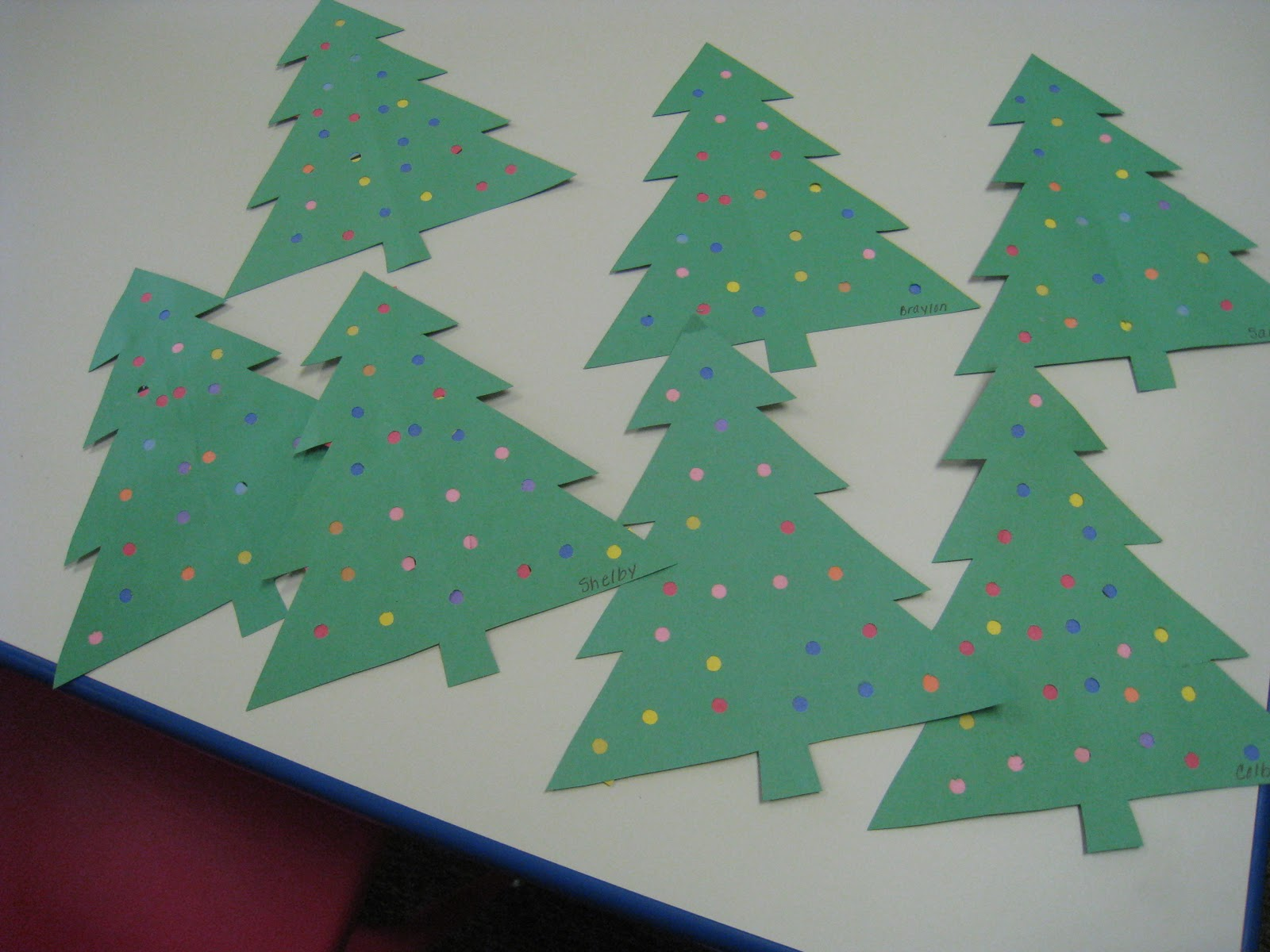 Decorate Christmas Tree On Paper : Mrs russell s class oh christmas tree