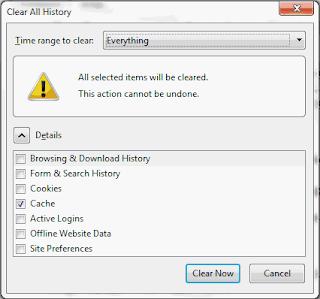 Cara Membersihkan Temporary File Internet dan System