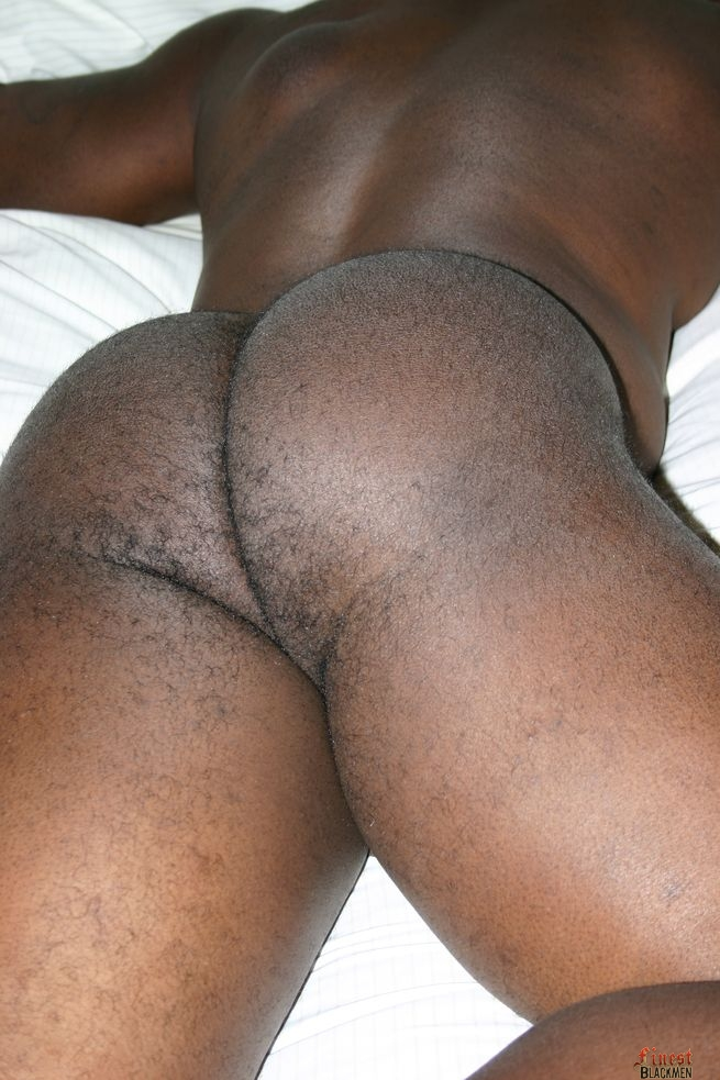 ass nude men Black