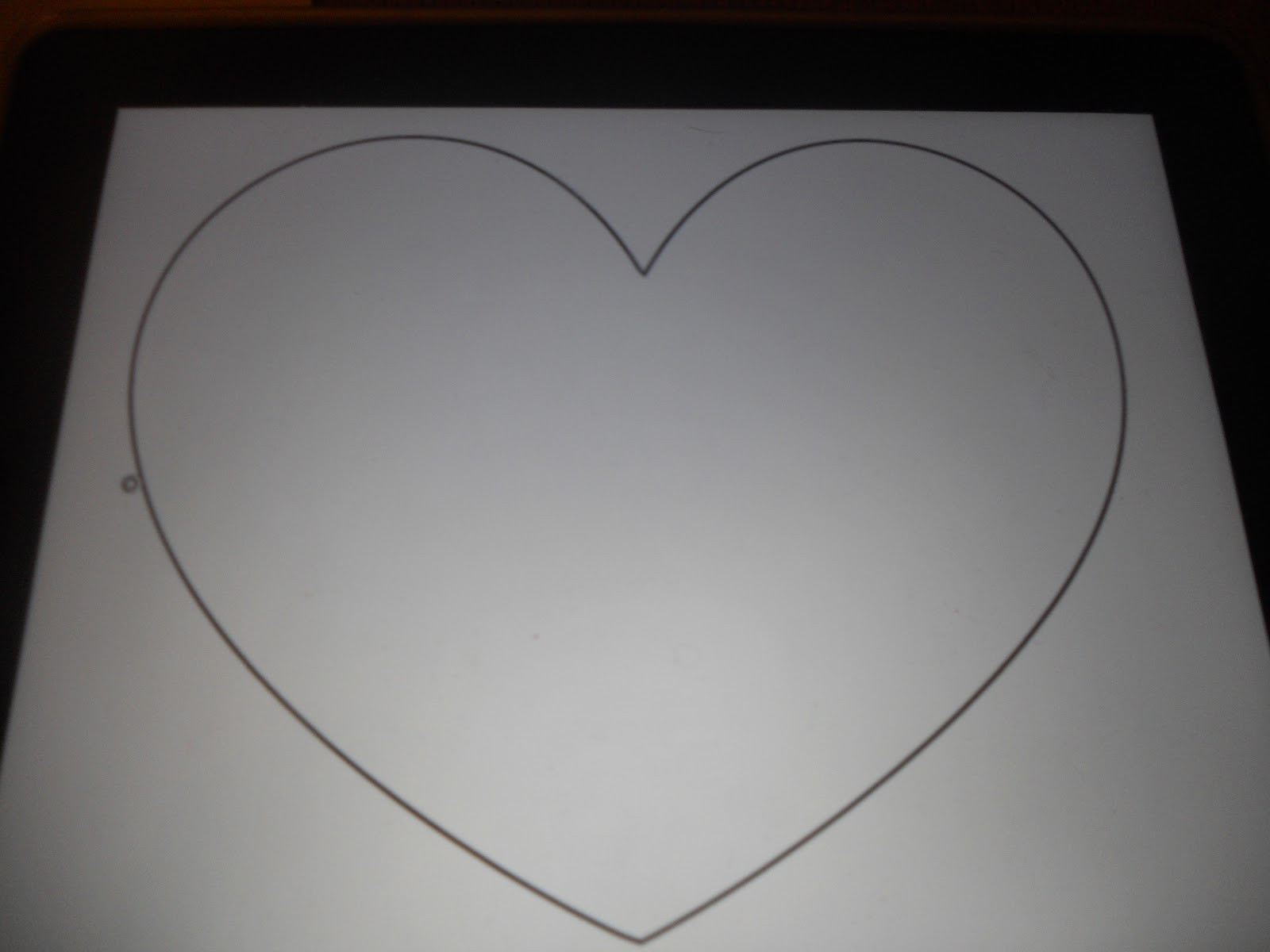 Large Heart Cut Out Template Search Results Calendar 2015
