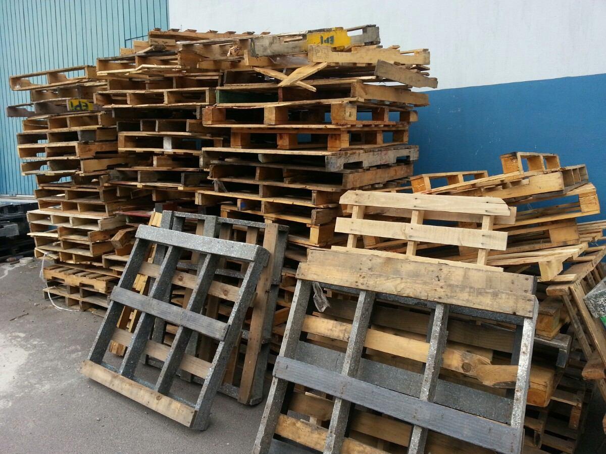 Tarimas de madera recicladas tarima de madera con ataque for Cosas recicladas con tarimas