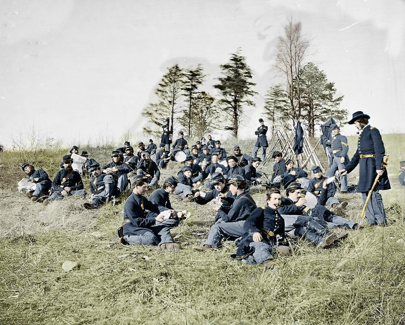 Reflections Of An Uncommon Common Man The Civil War In Color Civil War Pictures In Color