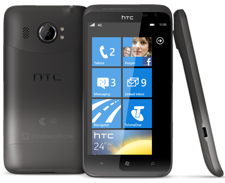 HTC Titan 4G - Australia