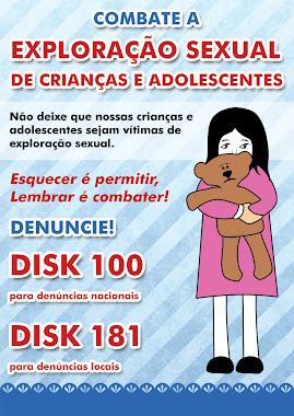 Combate a Exploração Sexual de Crianças e Adolescentes