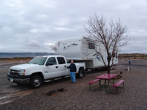 Campground near Bandera Fire and Ice