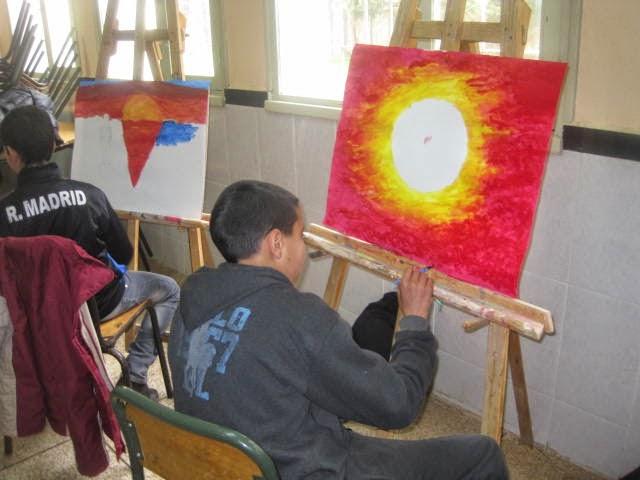 ورشة إقليمية في الفن التشكيلي بنيابة صفرو