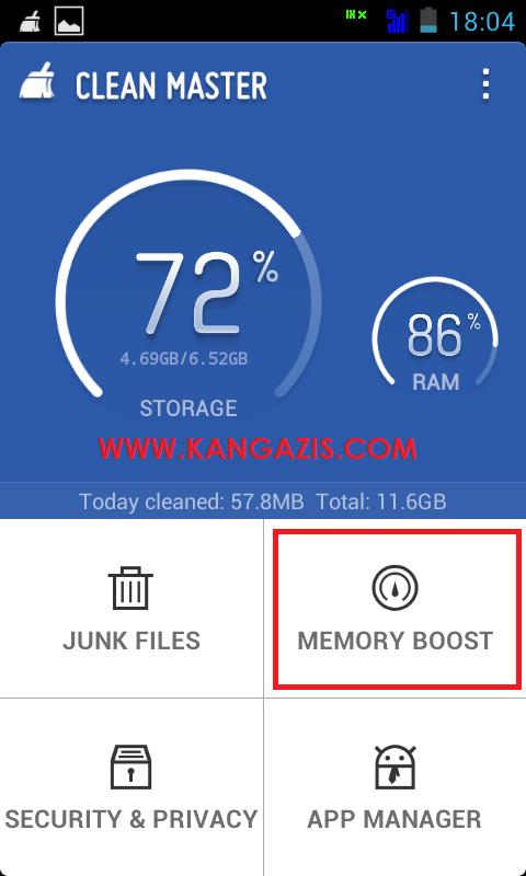 Cara Mempercepat Kinerja RAM Di Android