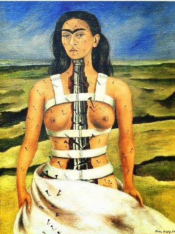 La columna rota Frida Kahlo 1944