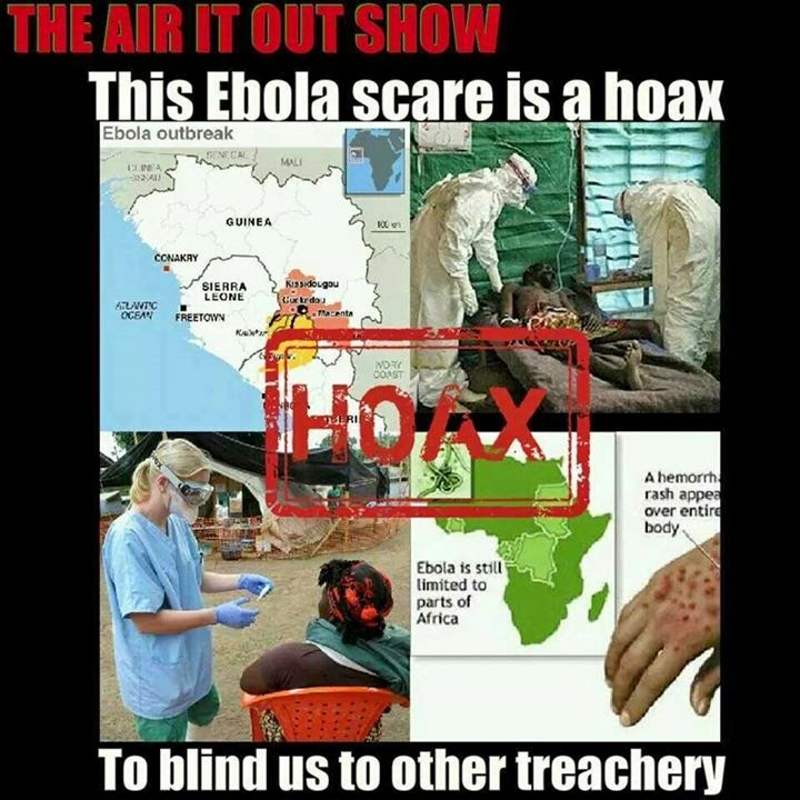 Ebo-Lie: Man Living In Ghana Confirms Ebola Is A Hoax