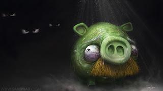 Gambar Babi di Angry Birds