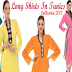 Latest Long Shirts Fashion In Pakistan | Funky Long Kurta Shirts