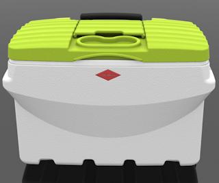 Willow 50 litre quickserve cooler designed by david flynn