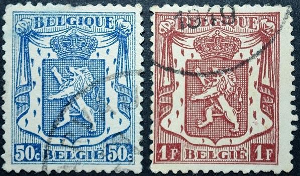 El león rampante en el Escudo de Armas belga