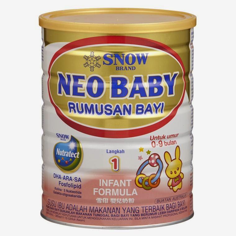 Blog Bini Abu: Susu Formula Terbaik Untuk Baby