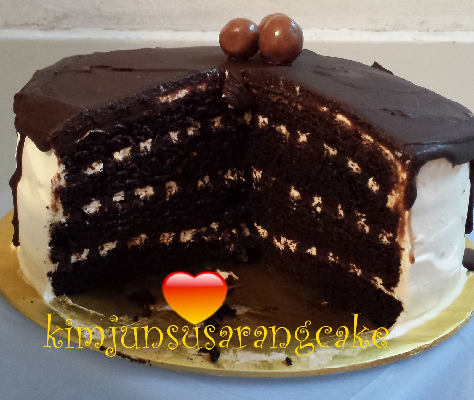 Wanna Cake?: Black and White Russian Cake