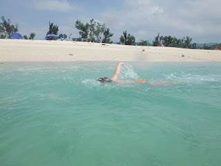 Okinawa, Beach, Okuma, Swimming