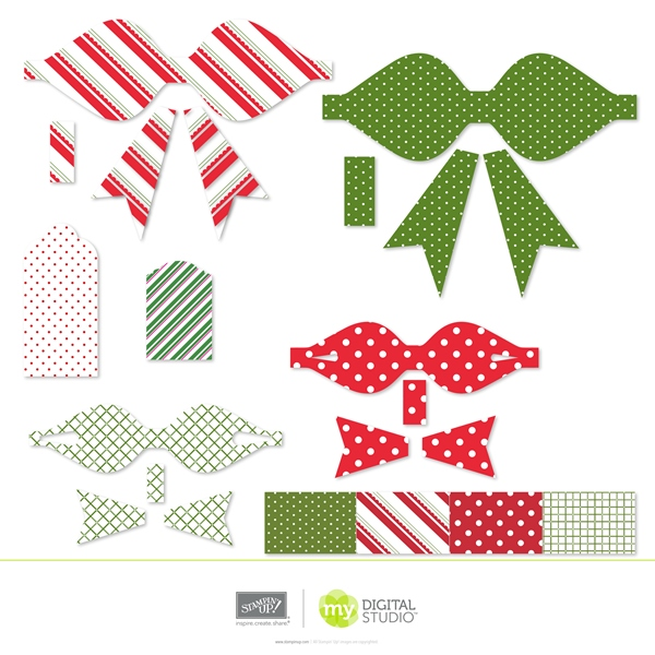 Stampin' Up! Pretty Presents Digital Kit