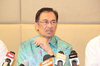 Anwar Ibrahim Konvensyen Pakatan Rakyat di Hotel De Palma, Ampang