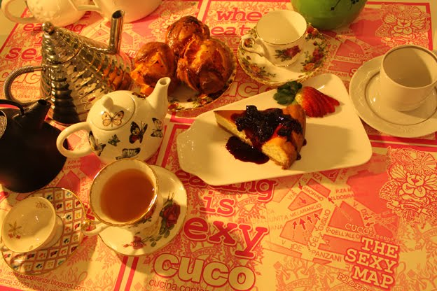 Tea time @ CUCO Cucina Contemporanea