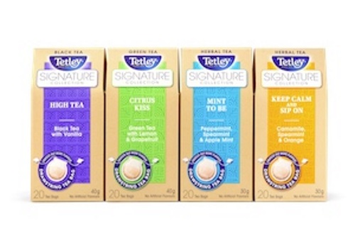 Tetley Ms Labelled Signature Collection Mini Contest