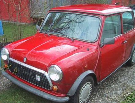 El Garaje Del Mini Clasico Si No Tienes Un Mini Es Porque No