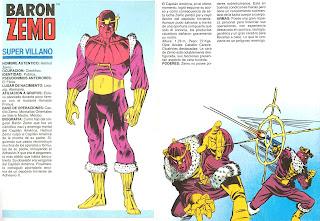 Baron Zemo Marvel Comics