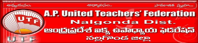 UNITED TEACHERS FEDERATION NALGONDA (UTF)