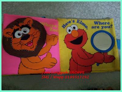 Softbook Elmo - Muka surat 7 & 8