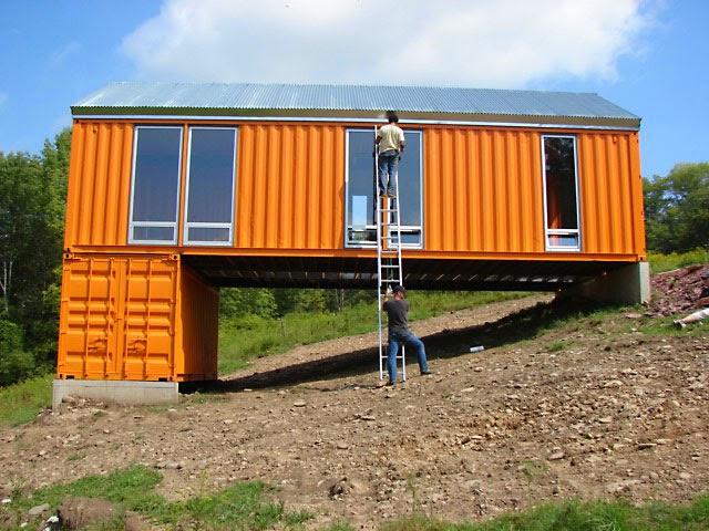 Casas contenedores 6 pasos b sicos para construir una - Casas hechas con contenedores precios ...