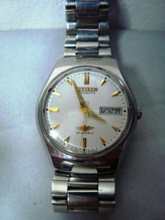 Jam Tangan Citizen Vintage Automatic Plat Putih