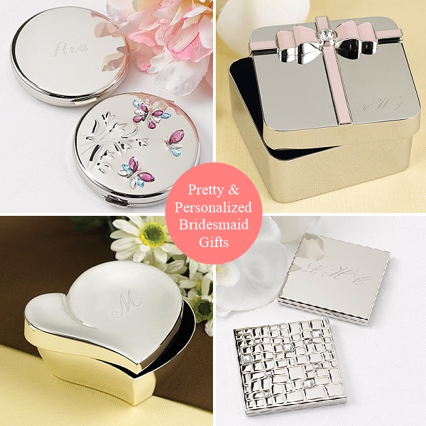 Personalized Bridesmaid Gifts   Things Festive Weddings ...