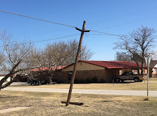 Broken AT&T Electric Pole