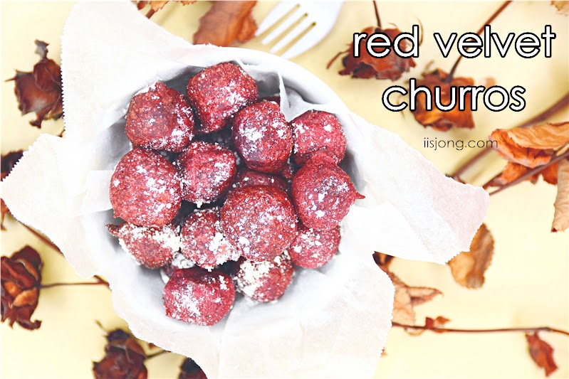 red velvet churro balls singapore blog