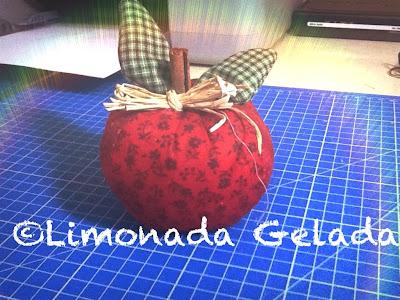 maçã de patchwork