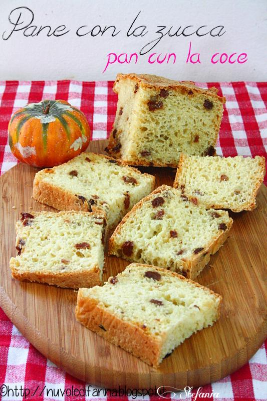 Cucina friulana: pane con la zucca - pan cun la coce